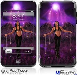 iPod Touch 2G & 3G Skin - Kathy Gold - Goth Angel 1