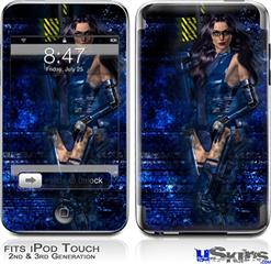iPod Touch 2G & 3G Skin - Kathy Gold - Scifi