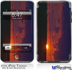 iPod Touch 2G & 3G Skin - South GA Sunset