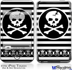 iPod Touch 2G & 3G Skin - Skull Patch