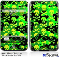 iPod Touch 2G & 3G Skin - Skull Camouflage