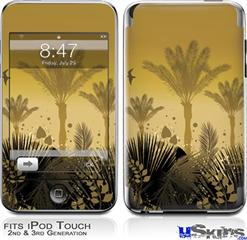 iPod Touch 2G & 3G Skin - Summer Palm Trees
