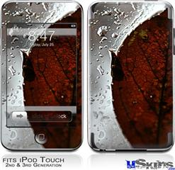 iPod Touch 2G & 3G Skin - Rain Drops On My Window