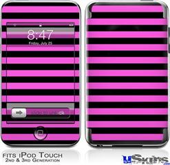 iPod Touch 2G & 3G Skin - Stripes Pink