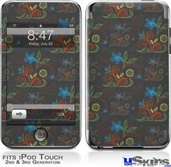 iPod Touch 2G & 3G Skin - Flowers Pattern 07