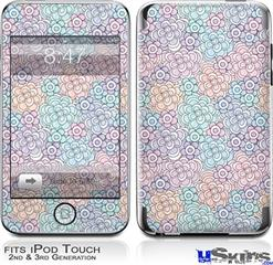 iPod Touch 2G & 3G Skin - Flowers Pattern 08