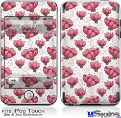 iPod Touch 2G & 3G Skin - Flowers Pattern 16