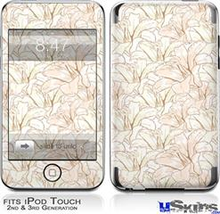 iPod Touch 2G & 3G Skin - Flowers Pattern 17
