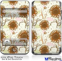 iPod Touch 2G & 3G Skin - Flowers Pattern 19