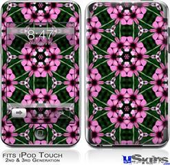 iPod Touch 2G & 3G Skin - Floral Pattern Pink