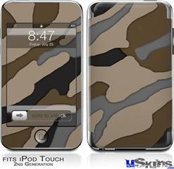iPod Touch 2G & 3G Skin - Camouflage Brown