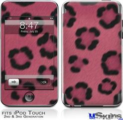 iPod Touch 2G & 3G Skin - Leopard Skin Pink