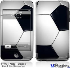 iPod Touch 2G & 3G Skin - Soccer Ball